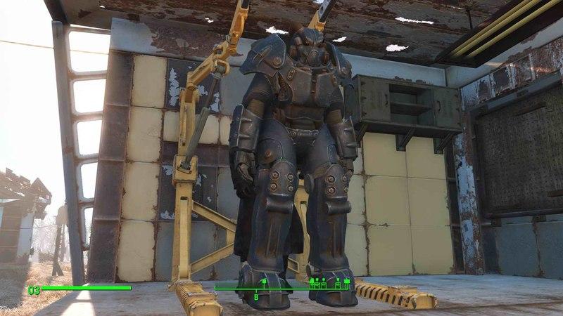 Прохождение Fallout 4 (часть 35) Броня Анклава