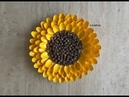 Pinecone Sunflower DIY Centerpiece / Wall Art Decor