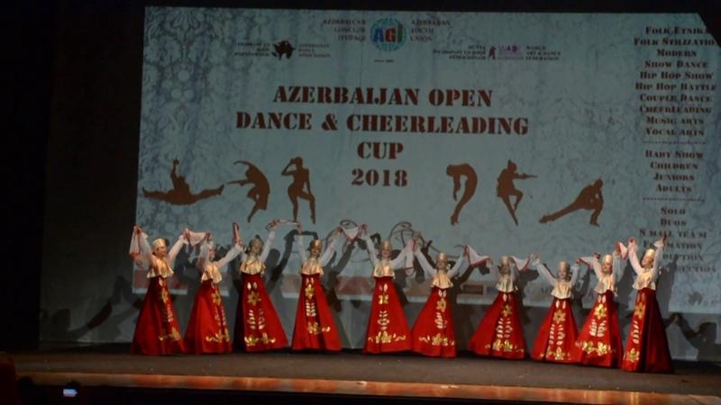 Ансамбль Лебедушки - танец Русский хоровод (Баку, Азербайджан, 02.12.2018)