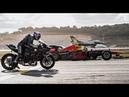 Kawasaki Ninja H2R Vs F1 Car Vs F16 Fighter Jet Vs Super-cars Vs PrivateJet Drag Race