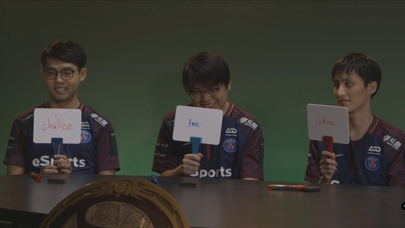 TI 8 grandfinal - Ask and answer from OG and LGD