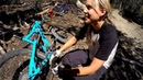 Showing off her old stomping grounds Mountain Biking with Lauren Gregg at Mammoth Mountain