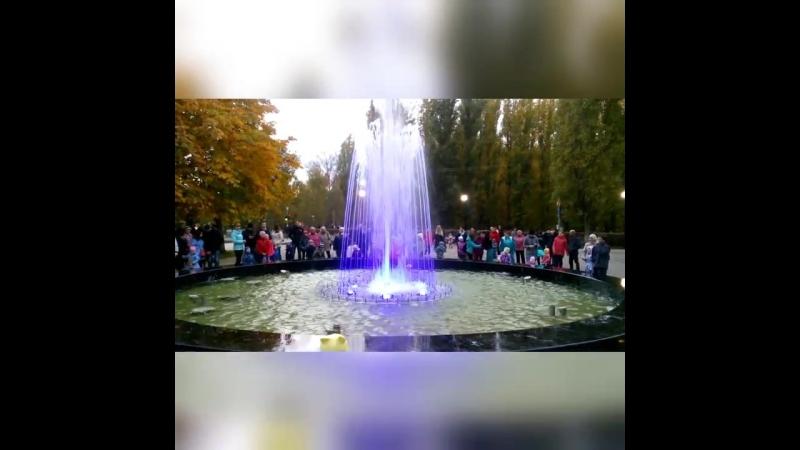 Балаково, осень 2017, Фонтан