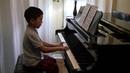 Sonatina in C major, 0p.36, 1, Part 3, Vivace. Mark Lopat, 7 y.o