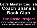 Coach Shane's Book Club The Rosie Project PART ONE