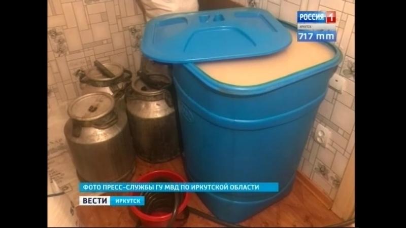 Несколько тонн браги изъяли у самогонщицы в Железногорске-Илимском