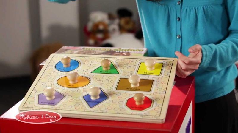 Jumbo Knob Puzzles by Melissa and Doug