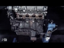 Покадровая съемка разборки мотора Mazda