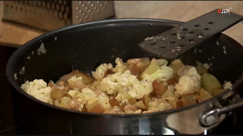 44 Дежурный по кухне Салат из риса басмати с овощами и клубника в маршмеллоу и шоколаде