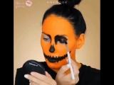 Креативный макияж на хэллоуин