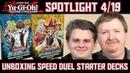 YuGiOh Speed Duel Starter Decks Unboxing Spotlight 4/19 deutsch traderonlinevideo Trader