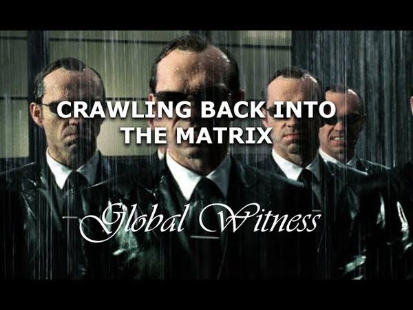 CRAWLING BACK INTO THE MATRIX - RAKED ACROSS THE FLESH AND BONES