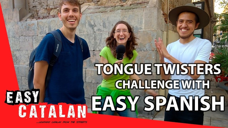 Tongue twisters challenge with Easy Spanish Easy Catalan 3