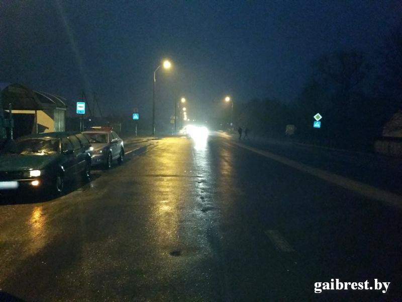 На ул. Ковельской в Бресте на переходе сбили пешехода