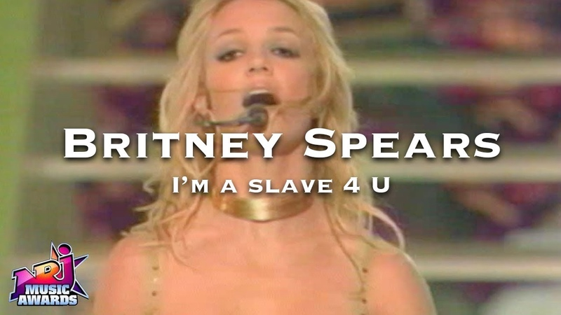 Britney Spears - I'm a slave 4 U (NRJ music awards 2002)