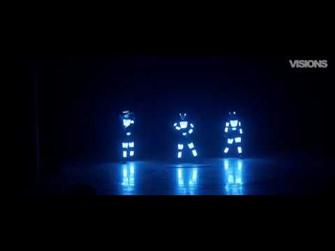 Школа Танцев Visions - Световое шоу