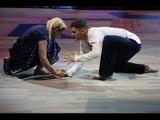 Танцы со звёздами (11.04.2015). Ирина Пегова и Андрей Козловский. Контемпорари