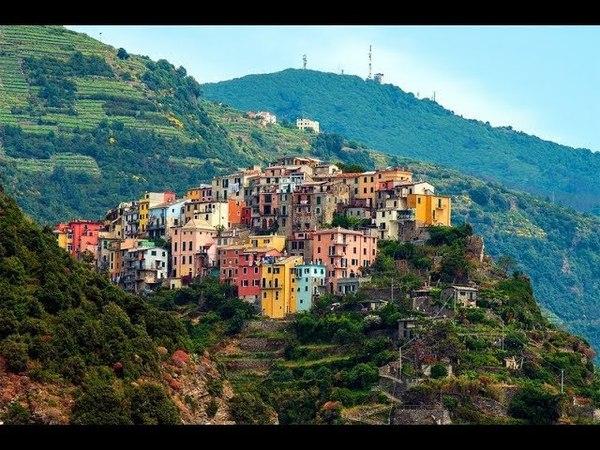 Корнилья Италия / Corniglia Italy 4K Ultra HD