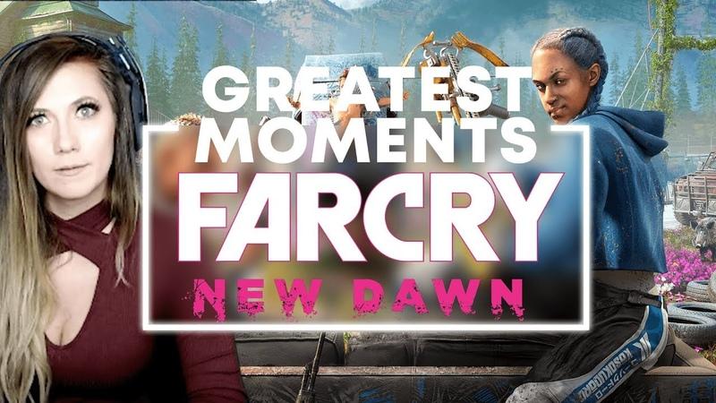 FAR CRY NEW DAWN | WTF Is This Game!! | Lindsay Elyse