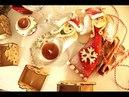 Mikołajkowy aniołek z masy solnej/ Satl Dough Santa