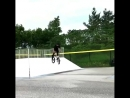 Fakie 270 no-hander BMX