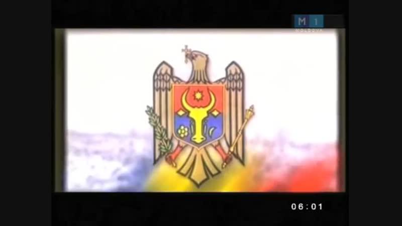 Рестарт эфира канала Moldova 1 (Молдова). 12.10.2015