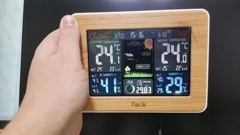 FanJu FJ3365 ► классная метеостанция!