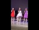 Отчётный концерт Аиды после первого года обучения. 15 мая 2018 года.