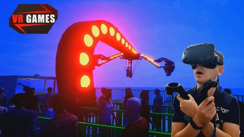 Симулятор атракционов в виртуальной реальности RideOp VR Thrill Ride Experience VR