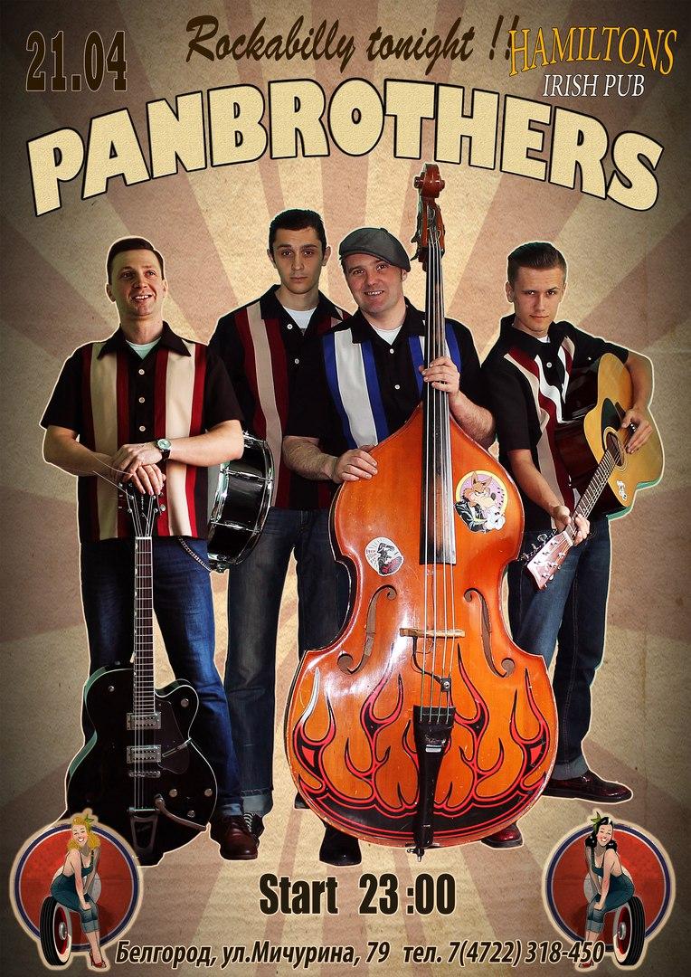 21.04 Panbrothers в Hamilton's pub