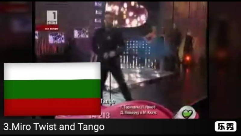 Национальный отбор Болгарии на Евровидении 2010 мой топ 5