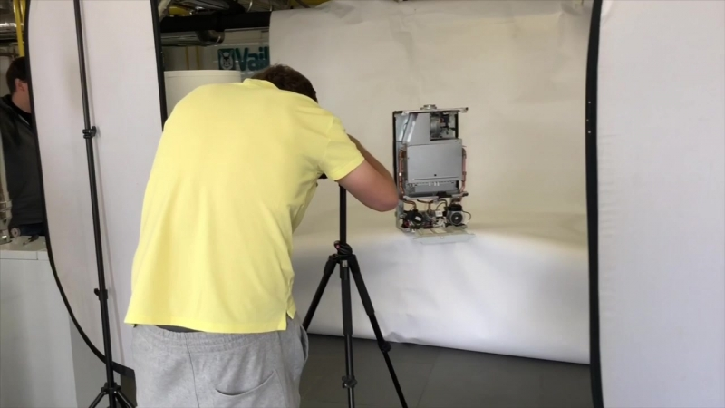 Предметная фотосъемка котлов отопления
