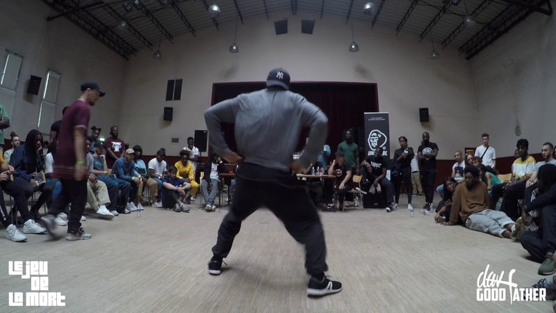BATTLE JEU DE LA MORT V 1/2 FINAL HIPHOP TONBEE VS KITOKO