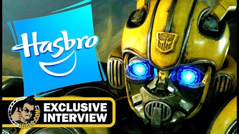 Hasbro Toys Exclusive Comic Con Interview Walkthrough (SDCC 2018) Bumblebee
