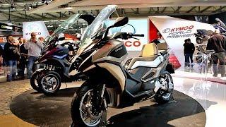 Kymco 2018: Xciting 400 S / CV2 / CV3