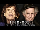 1962 2018 on JAGGER RICHARDS Morphing Year to Year