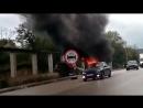 Очередная авария на выезде из Симферополя. Марьино
