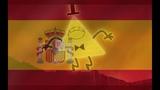 Castilian Spanish Gravity Falls - Bill Cipher Laughs