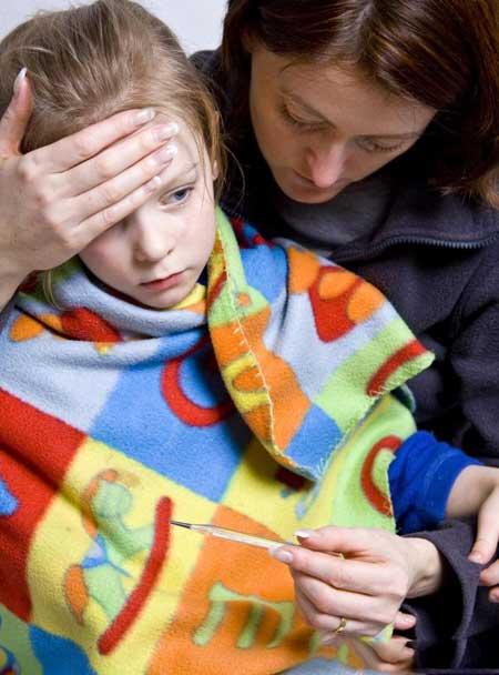 Боль в животе может возникнуть при гриппе