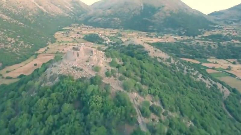о Крит с высоты птичьего полёта