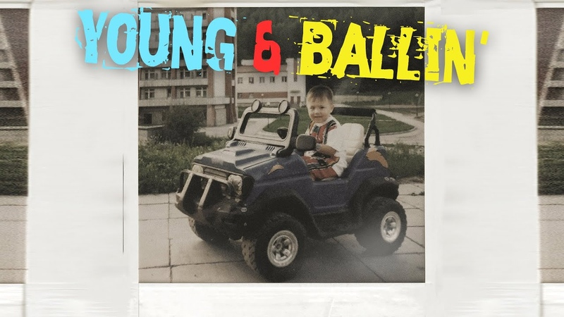 Vee - young ballin (Official Lyric Video)