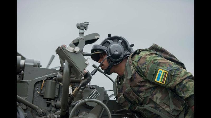 RDF Combined Arms Field Training Exercise