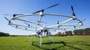 Первый в мире двухместный пилотируемый дрон Volocopter
