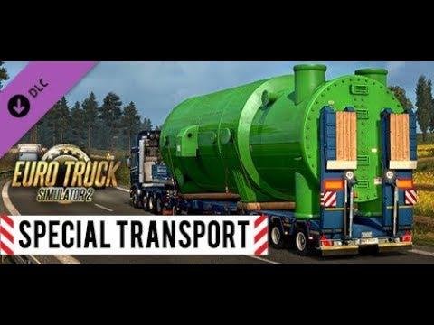 Euro Truck Simulator 2 Дополнение Special Transport