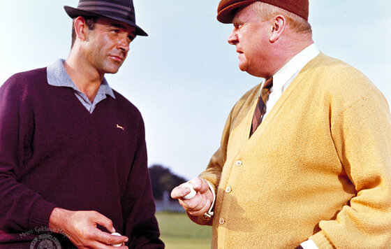 «Голдфингер» (1964): ТВ-ролик