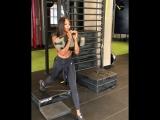 Тренировка модели Naomi Campbell