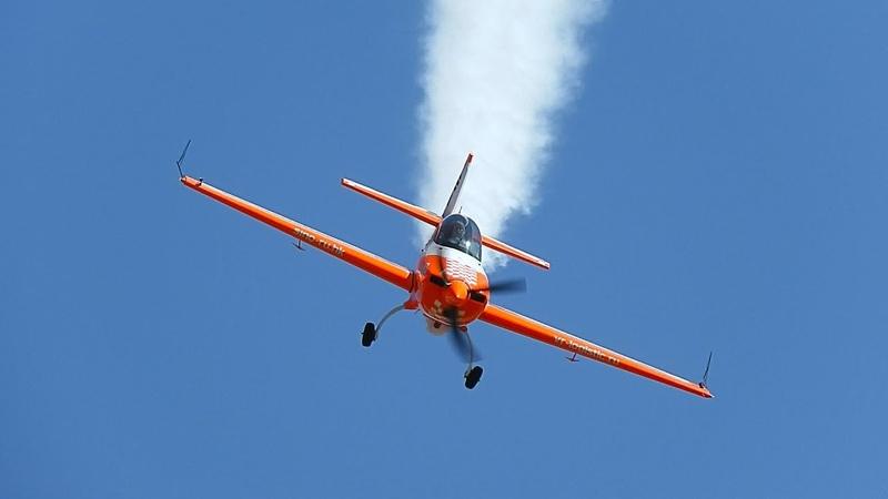 Светлана Капанина. Высший пилотаж на 80 летии ЦПАТ в Кубинке
