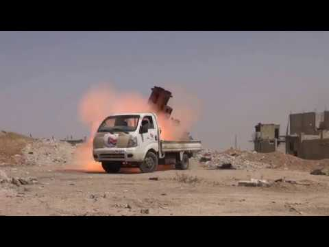 SYRIA:WATCH THE VIDEO OF A PART OF THE MILITARY OPERATIONS OF THE SYRIAN ARMY IN YARMOUK CAMP