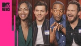 The 'Avengers Infinity War' Cast Play Marvel Trivia MTV News
