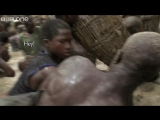 Thousands of fishermen empty lake in minutes - Human Planet_ Deserts, preview - BBC One